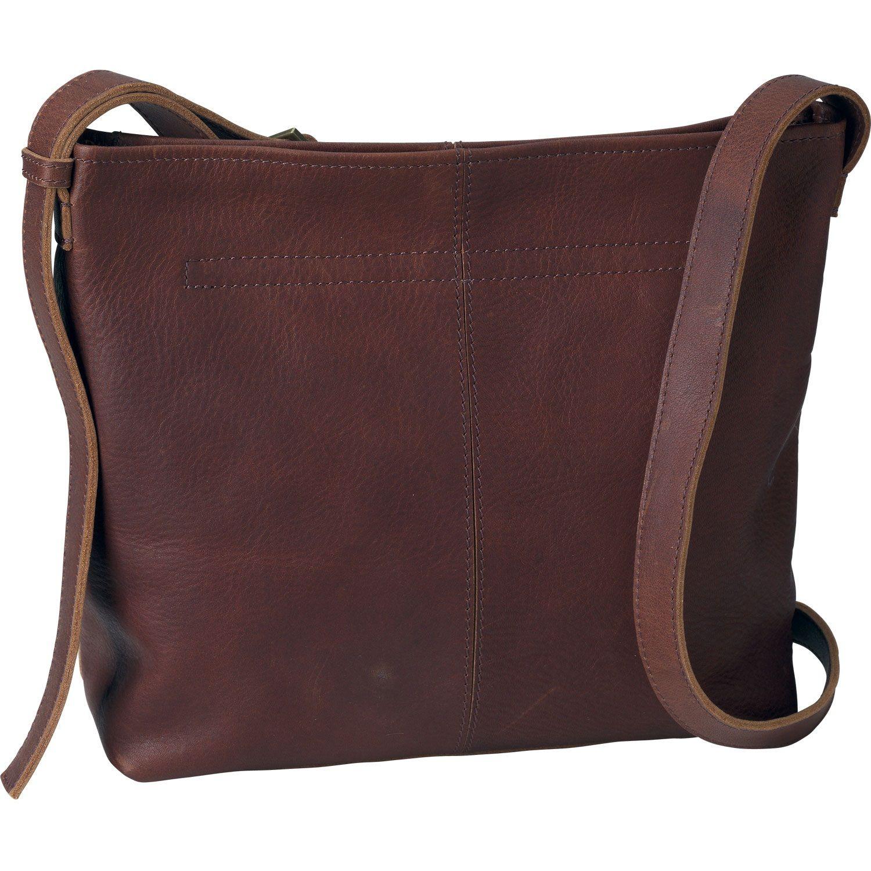 Women's Lifetime Leather Medium Sling Bag - Duluth Trading