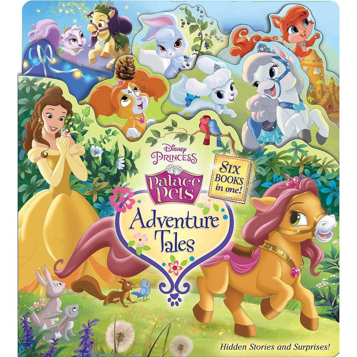 Palace Pets Adventure Tales Book Disney princess palace