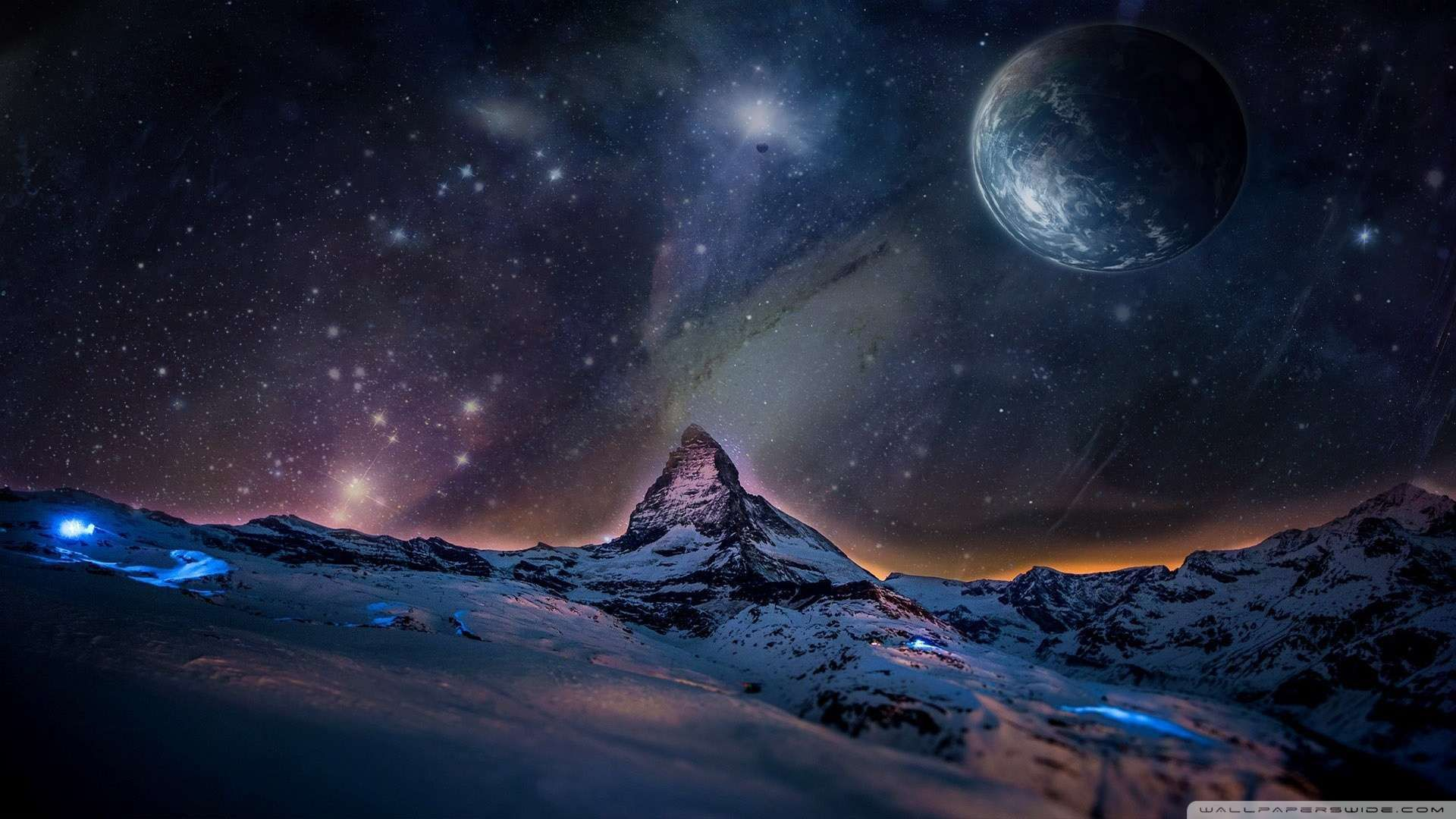 Hd Space Wallpapers 1080p WallpaperSafari (с