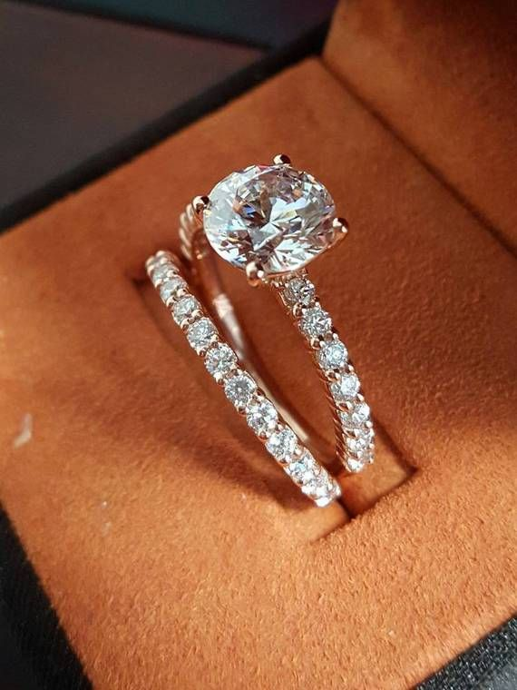 30 unique custom style diamond engagement rings - Wedding Rings Pinterest