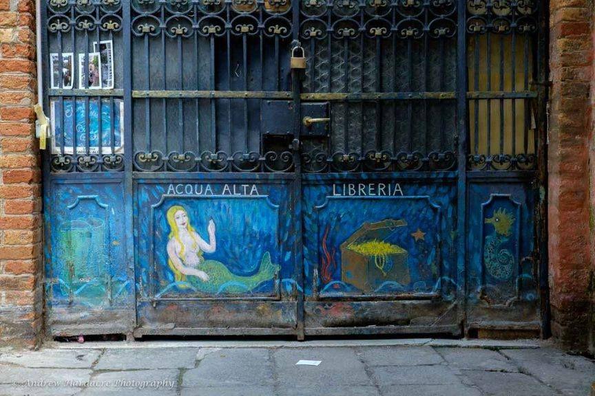 Acqua Alta Libreria, Venezia
