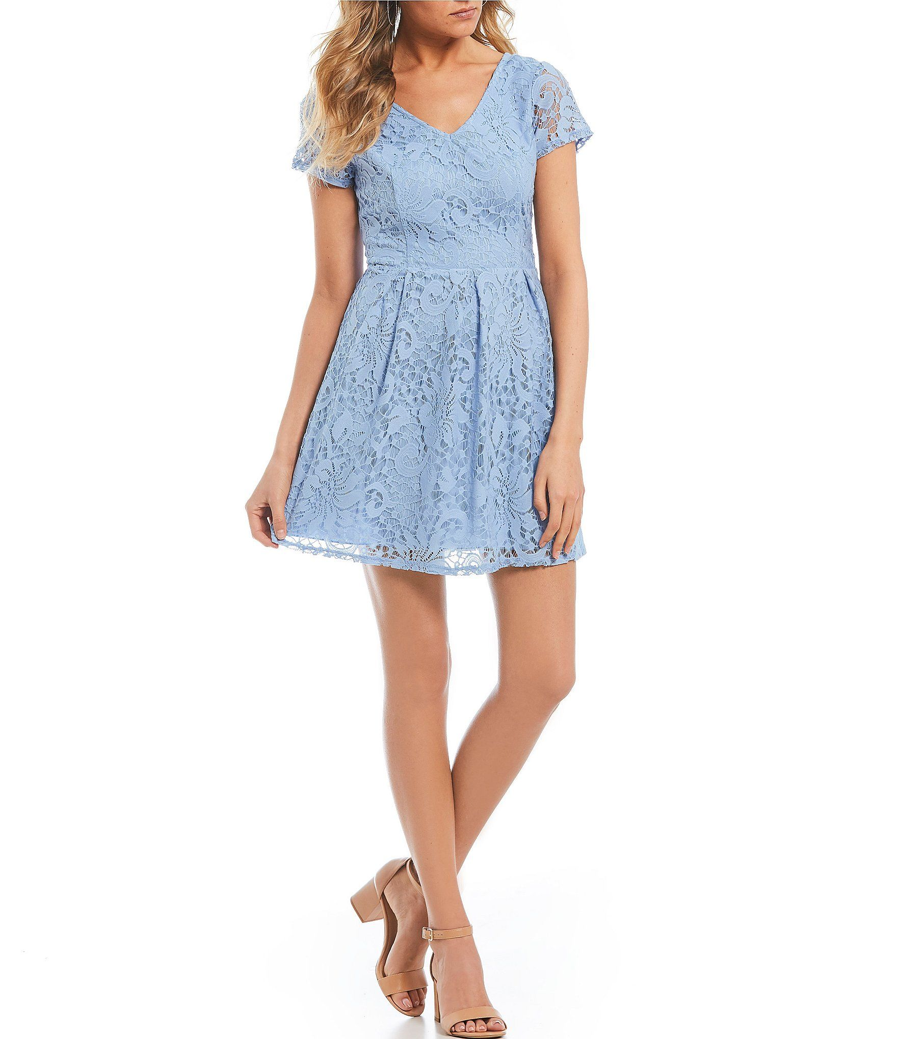 d6f585bb230 Shop for Xtraordinary Short Sleeve Lace Bow Back Dress at Dillards.com.  Visit Dillards.com to find clothing