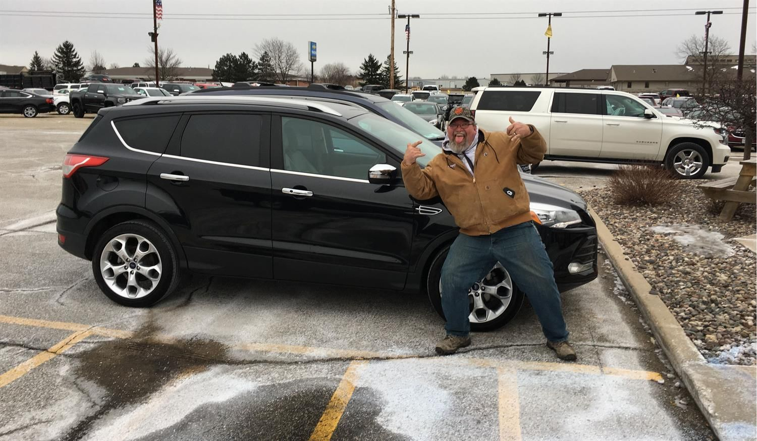 David, we are so excited for all the places you will go in your new ride, safe travels Kunes Country Chevrolet Buick GMC!