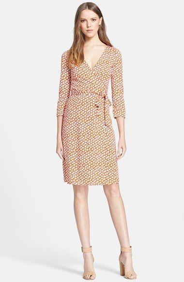 0f2c123181d7 Diane von Furstenberg 'New Julian 2' Silk Jersey Wrap Dress available at  #Nordstrom