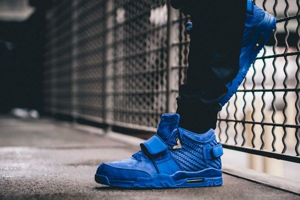 Nike gears up to release another installment of the Air Trainer Cruz sneaker, in a royal blue colorway.