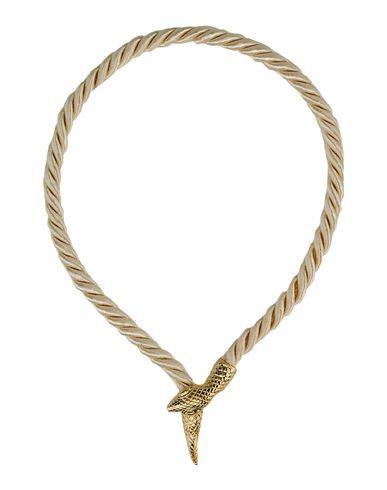 Necklace #rope #reptile - un cordino diventa un serpente che decora il decollete! http://www.etsy.com/shop/ManifatturadiBreme