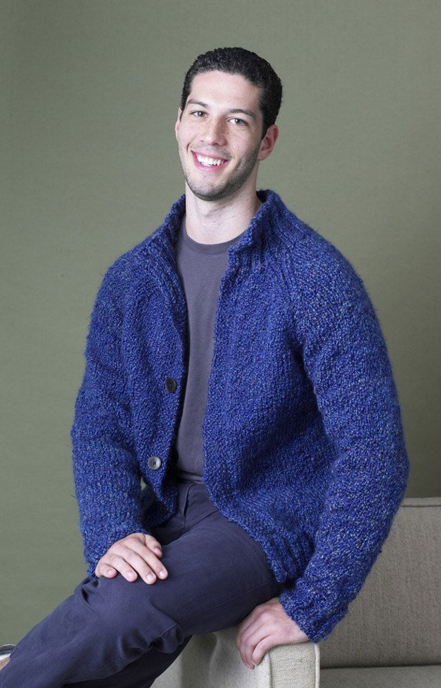 Bethel Woods Cardigan In Lion Brand Homespun 90351ad Discover