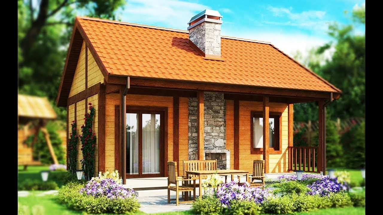 With Area Only 38m Ideas House Beautiful Small Houses Red Tile Roof Beautiful Small Homes Small House Cheap Houses