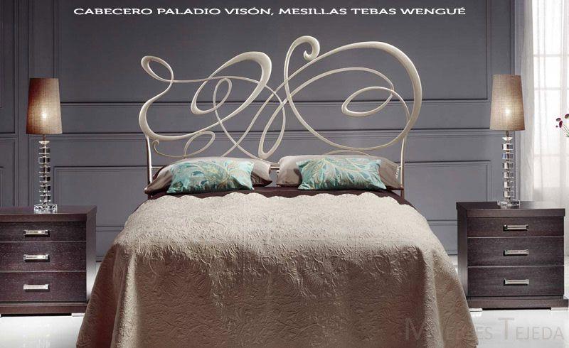 Cabecero Paladio De Peña Vargas Cabeceros De Forja Dormitorio De Matrimonio Muebles Dormitorio Dormitorios