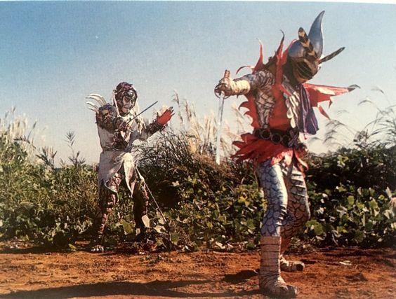 henshin ninja arashi against his enemy opponent japanese superheroes humanoid sketch enemy