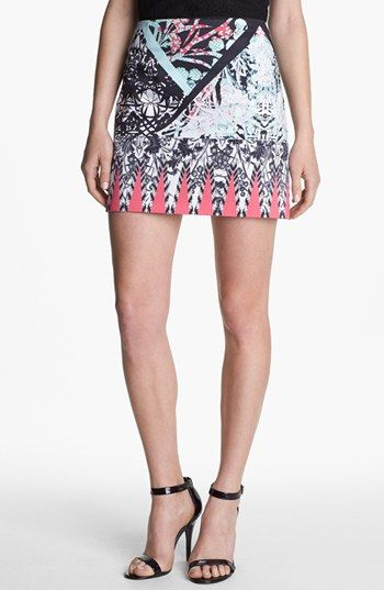Kenneth Cole New York 'Juliet' Print Skirt available at #Nordstrom
