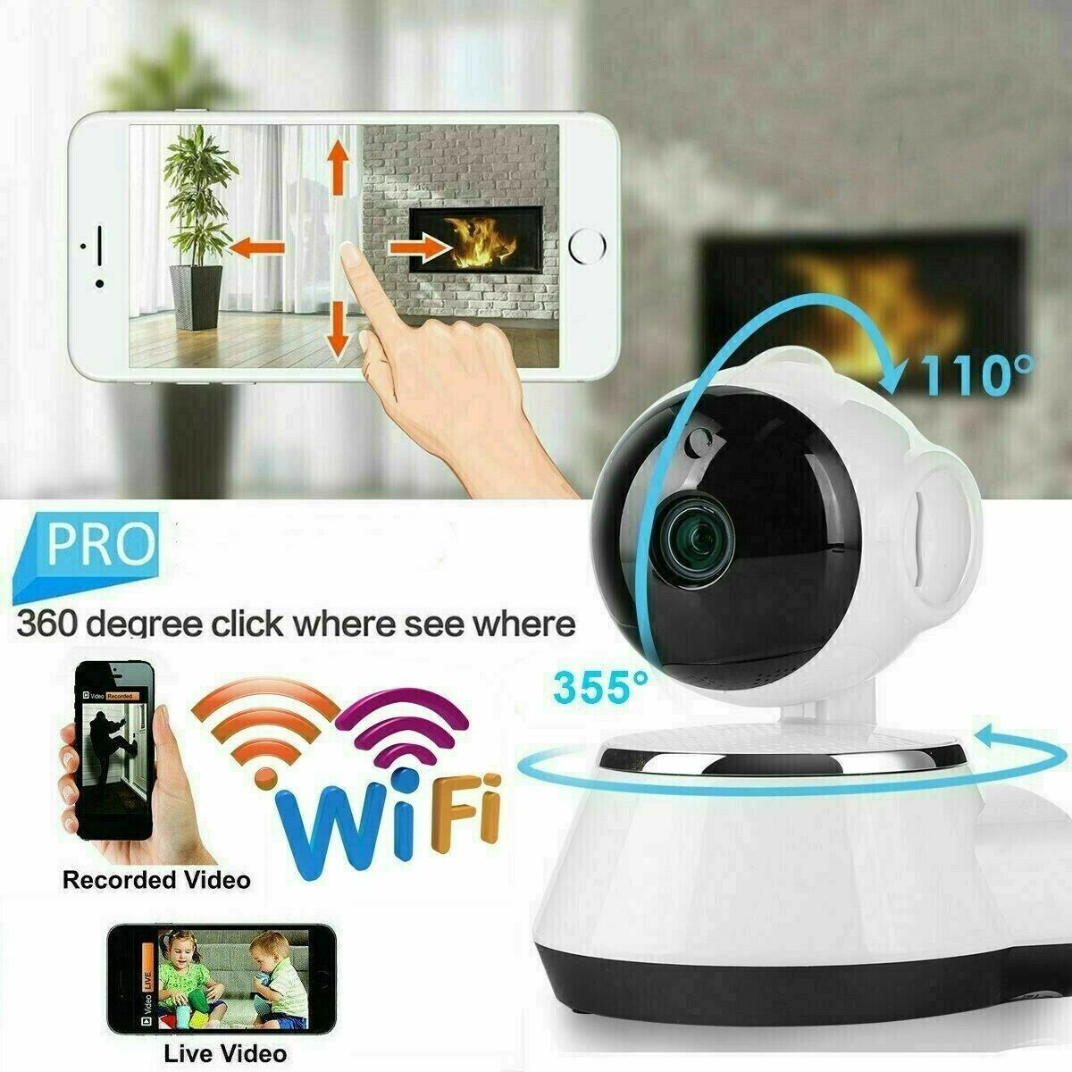 Smart Security Cameras For Sale