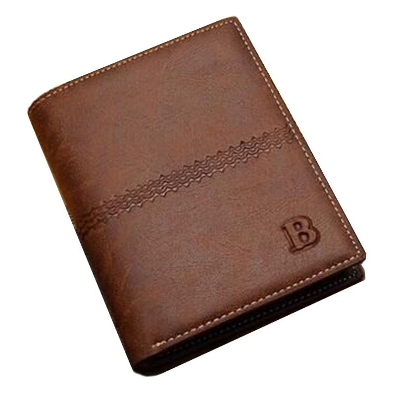 $7.10 (Buy here: http://appdeal.ru/a02o ) new 2016 men wallets famous brand mens wallet male money purses Soft ID Card Case New classic soild pattern designer wallet for just $7.10