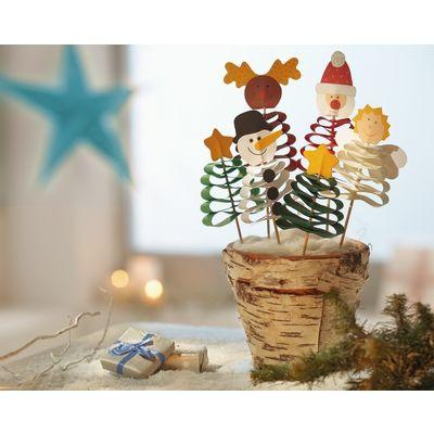 Sachenmacher wellenfiguren weihnachten weihnachten for Pinterest deutsch basteln