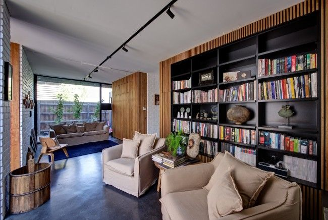 La  - bibliotecas modernas en casa