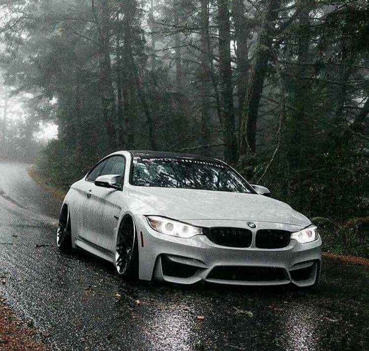 BMW M4 0 60 >> BMW F82 M4 white slammed rain   Cars   Pinterest   Slammed, BMW and Cars