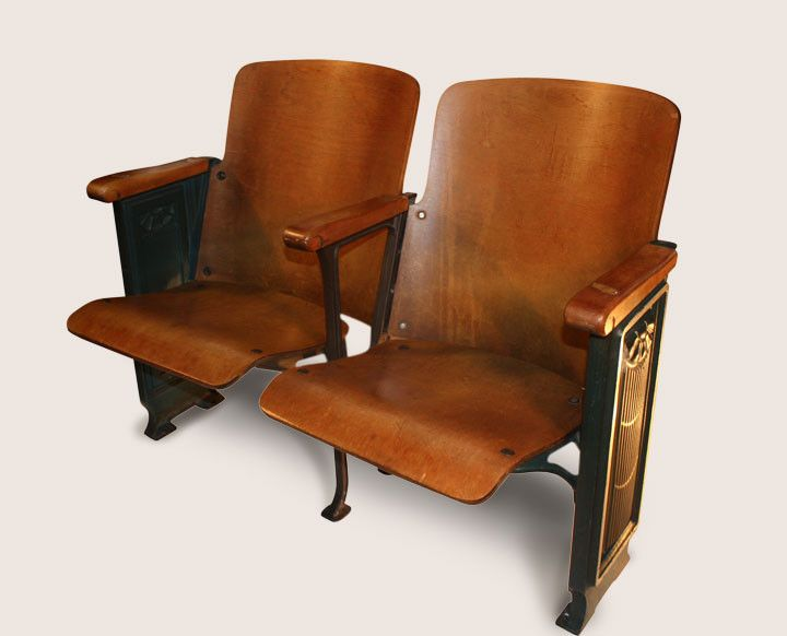 1920 S Throwback Antique Theater Seats Fabdiggity A Little