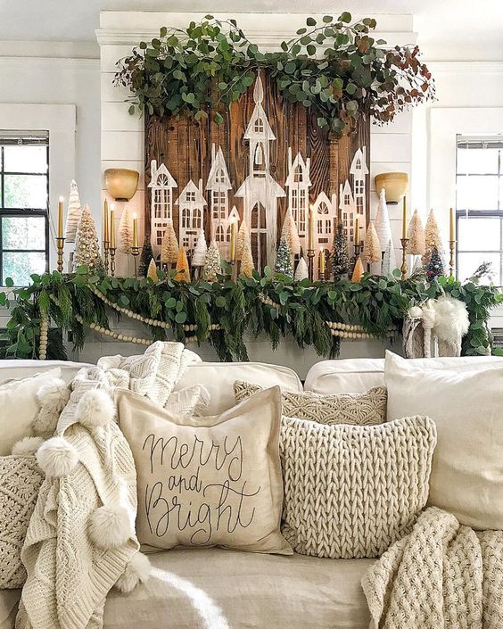 Photo of Little Christmas Houses Creative Decorating Ideas