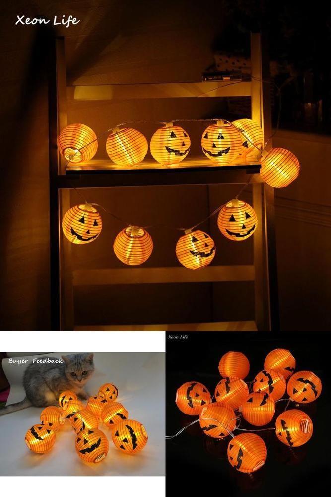 Details about ZMHEGW 2017 New 1 Set Pumpkin 10 LED String Lights