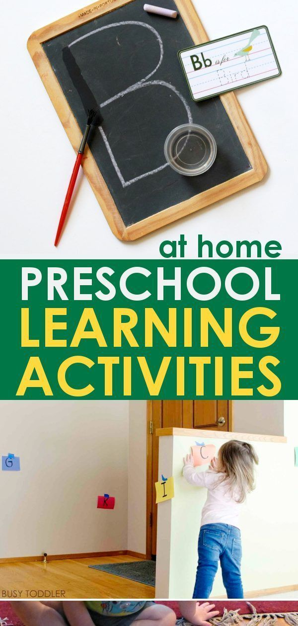 14 Indoor Learning Activities for Toddlers – Crafts and Games