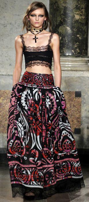Emilio Pucci (Maxi skirt)