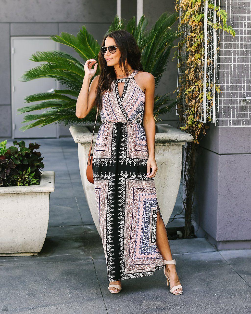 7ed4298a24ba Cape Coral Maxi Dress Coral Maxi Dresses