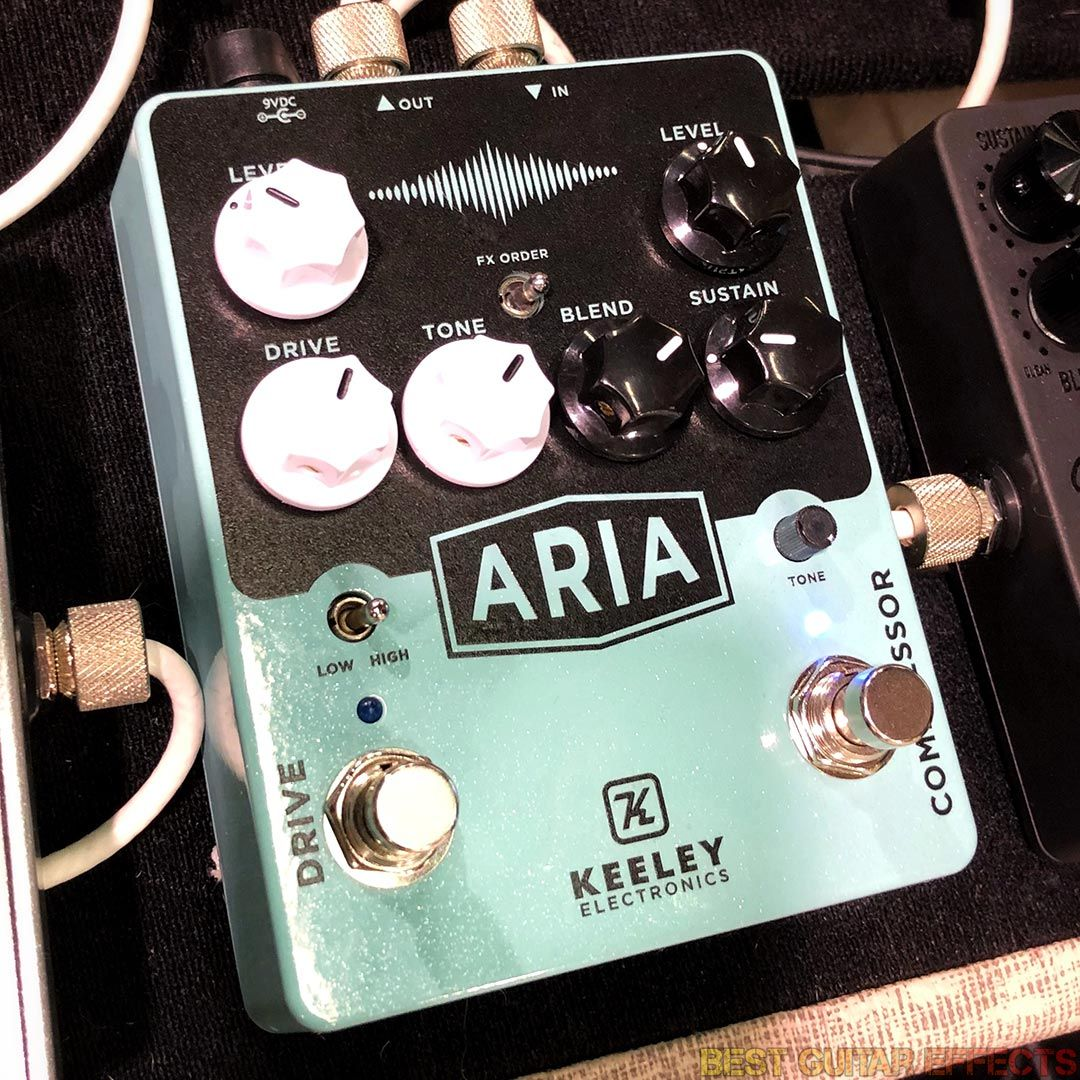 Keeley Electronics Aria Compressor / Drive 2018 | In a similar combo  enclosure to the D&M