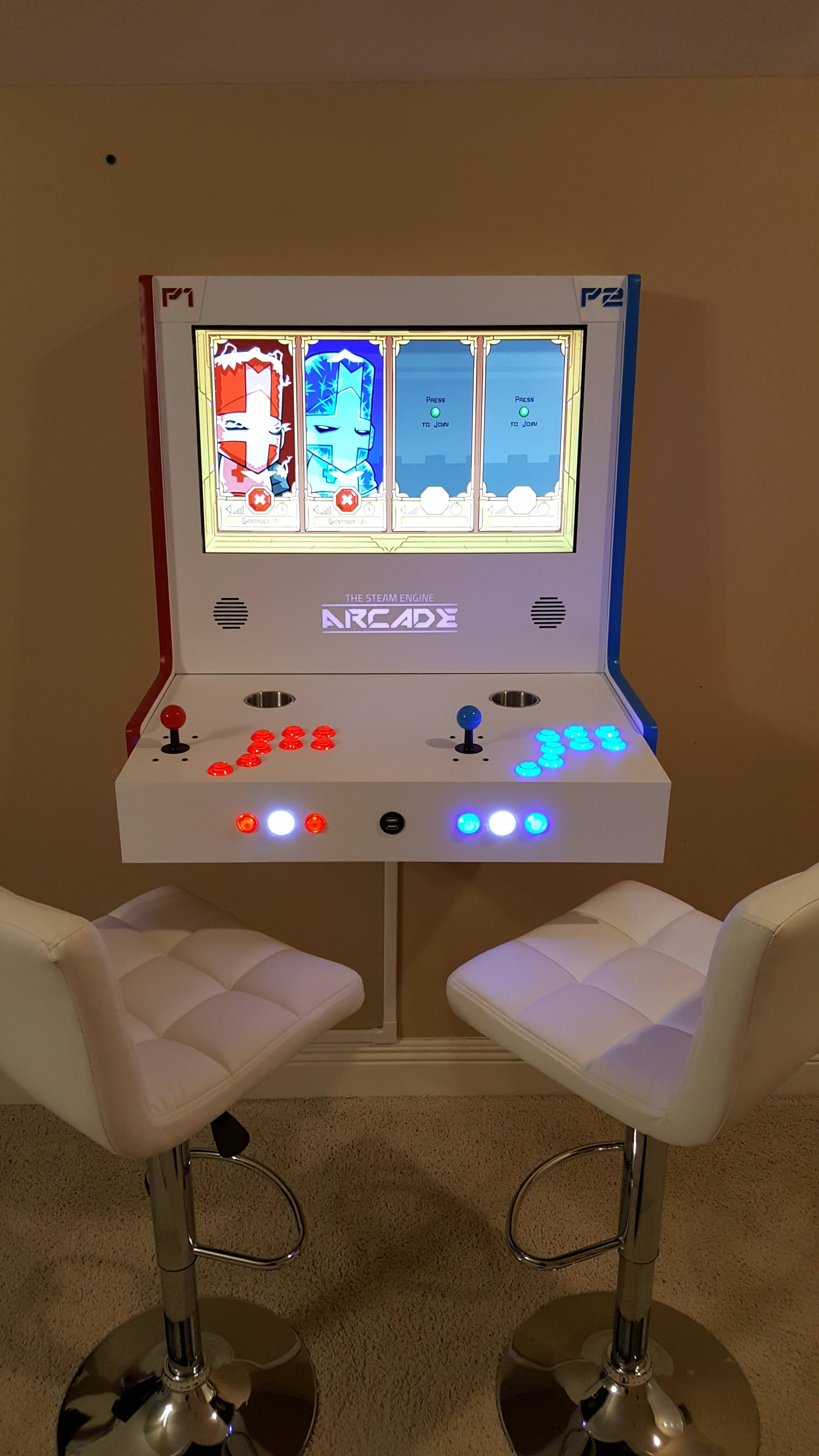 This Fancy Transforming Arcade Uses Steam Link