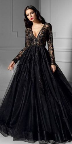 Gothic Wedding Dresses Challenging Traditions Wedding Forward Black Wedding Gowns Black Lace Wedding Black Wedding Dresses