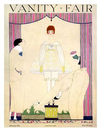 1910's Vanity Fair Covers Print at the Condé Nast Collection