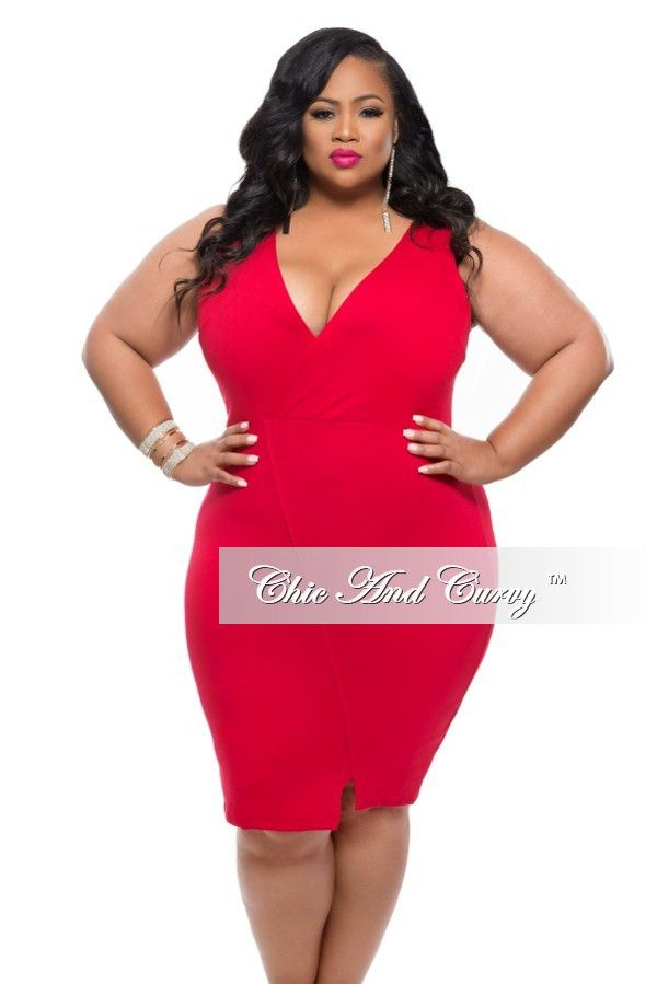 plus size red bodycon dress | good dresses