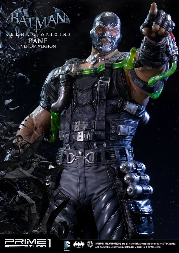 Official Batman Arkham Origins Bane Venom Version 1 3 Scale