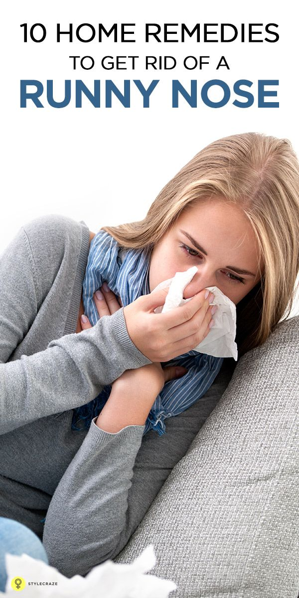 How To Stop A Runny Nose Rhinorrhea Fast Runny Nose