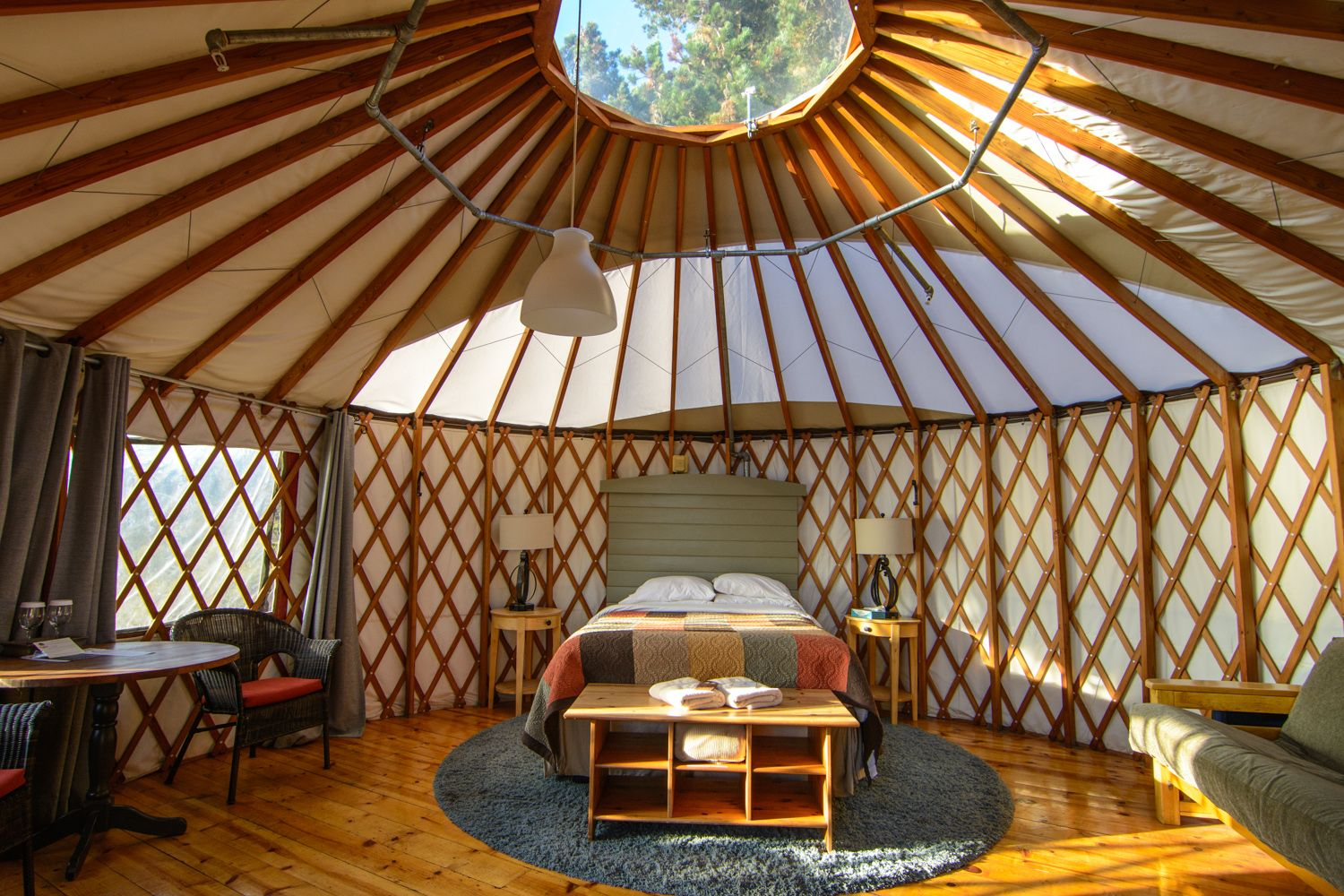 Treebones Resort Yurt Human Nest Big Sur California Big Sur Camping Big Sur Unique Hotels Stay in a yurt at treebones resort (big sur, ca). treebones resort yurt human nest big