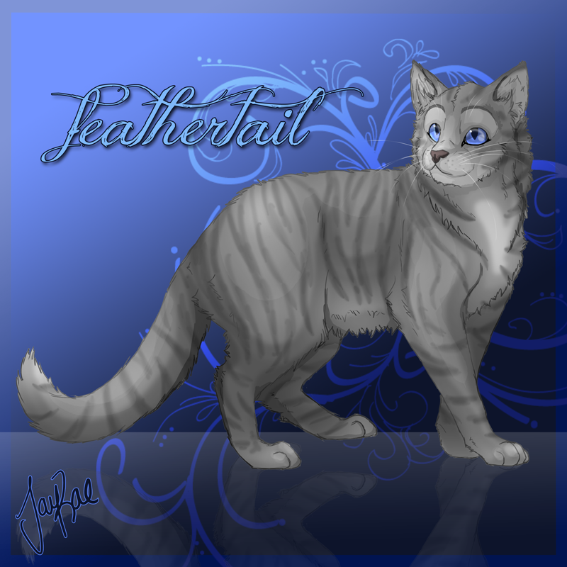 Feathertail had died saving The Tribe of Rushing Water from