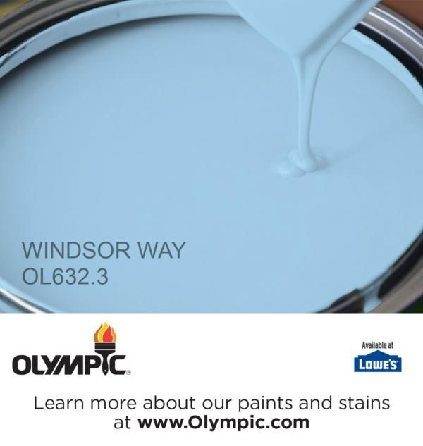 Windsor Way Ol632 3 Is A Part Of The Blues Collection By Olympic Paint