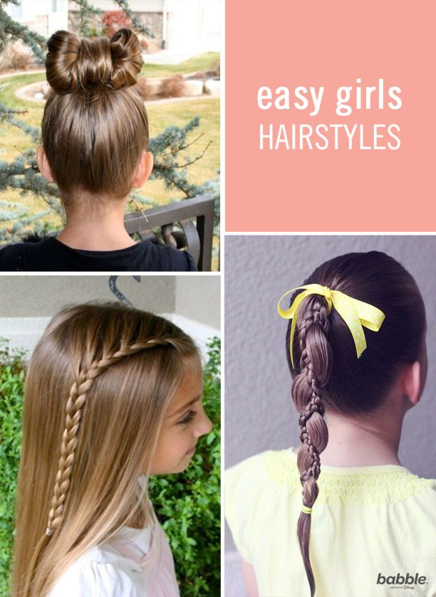 6 Quick Easy Hairstyles For Little Girls Hairstyles