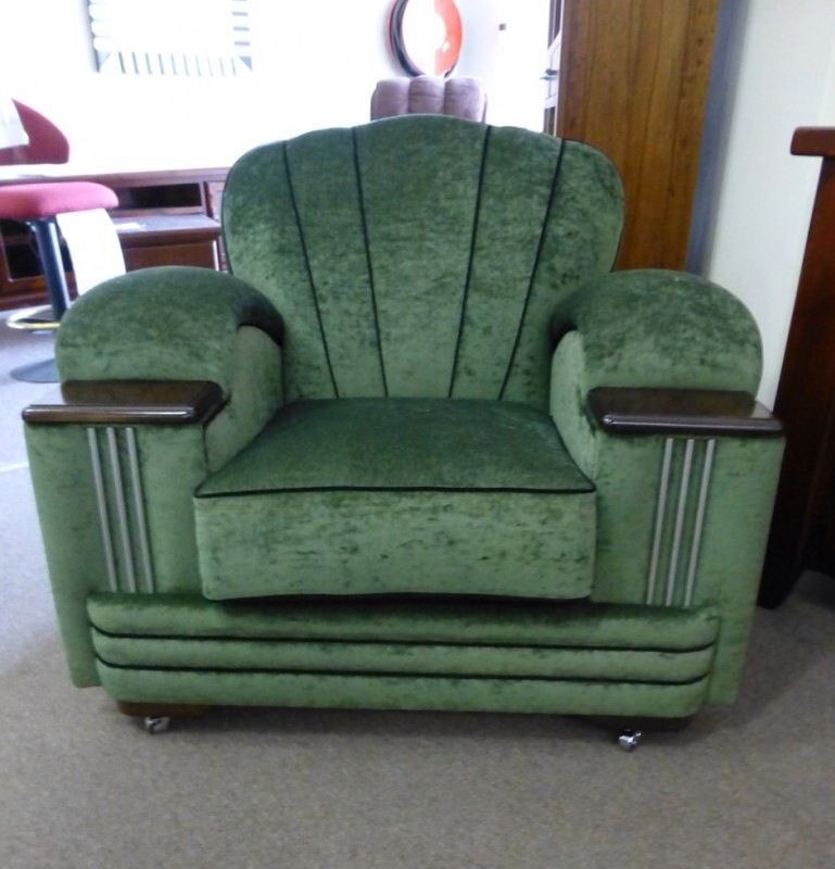 Art deco chair stunning i could definitely cozy up