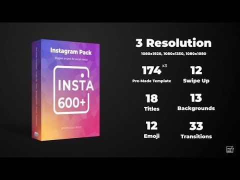 Instagram Stories Pack (Videohive After Effects Templates) - YouTube