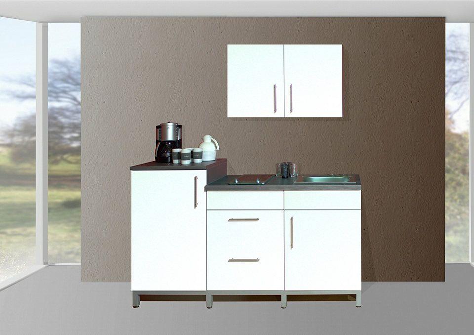 MENKE MÖBELWERKE Küchenzeile mit E-Geräten »Rack-Time Single 180 - küchenzeile 240 cm mit geräten