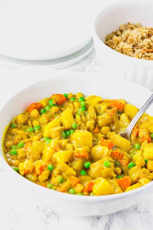 Jamaican Spicy Potato Curry (Vegan) Recipe | Yumml