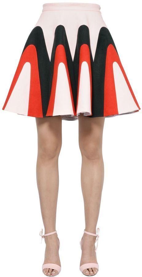 This Linen Gabardine Godet Skirt is just magnificent.