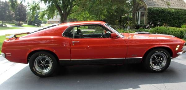 Beautiful 1970 Ford Mustang Mach 1 On Craigslist With Images