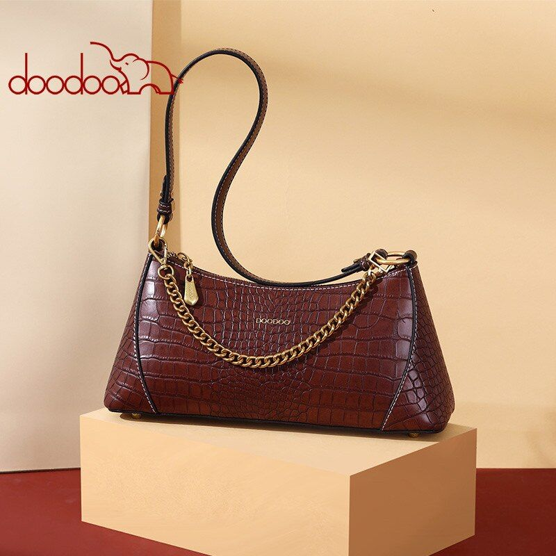 DOODOO Bag Female 2020 Spring and Summer New Fashion Retro