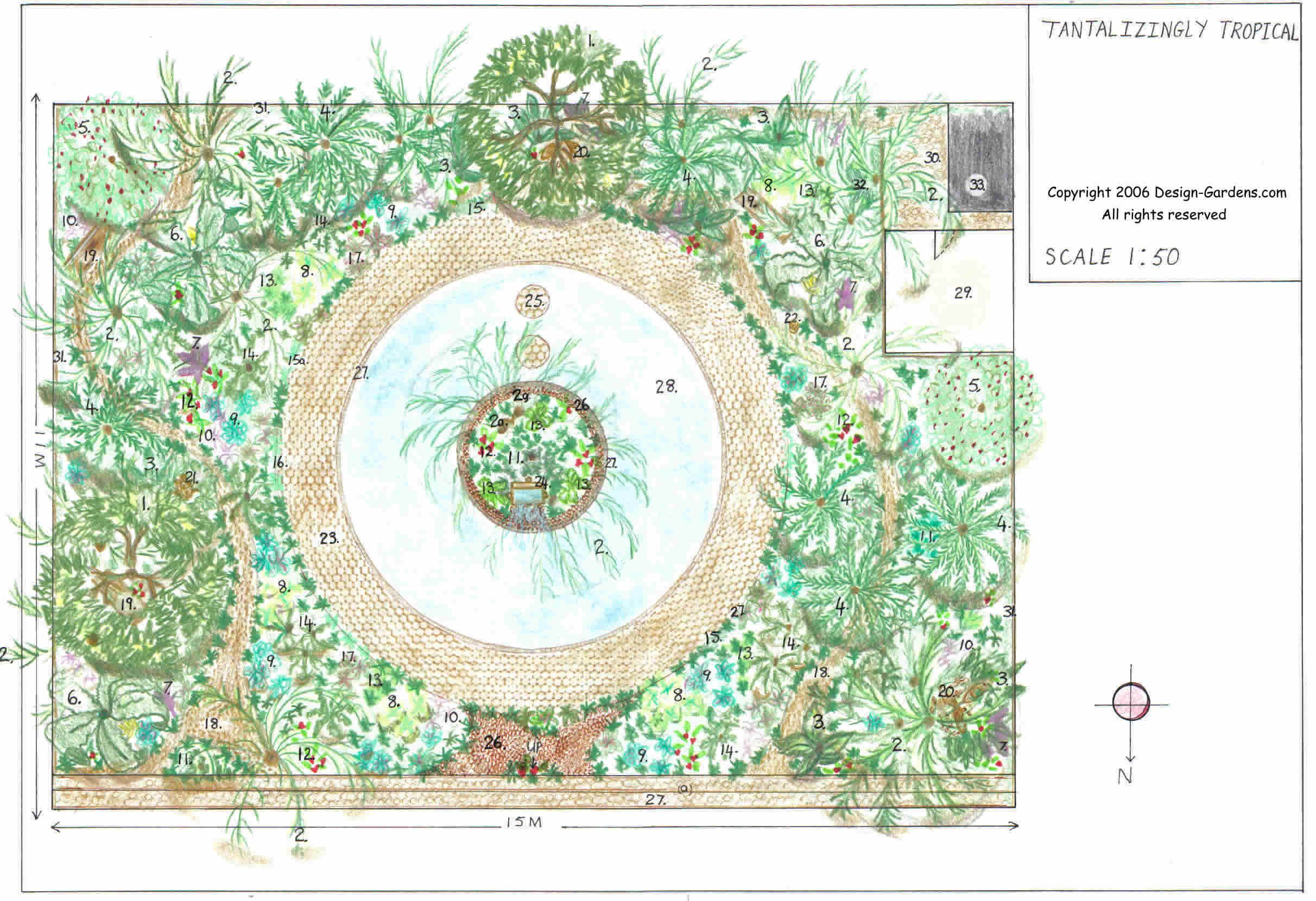 landscape design layout free download - Garden Design Layouts