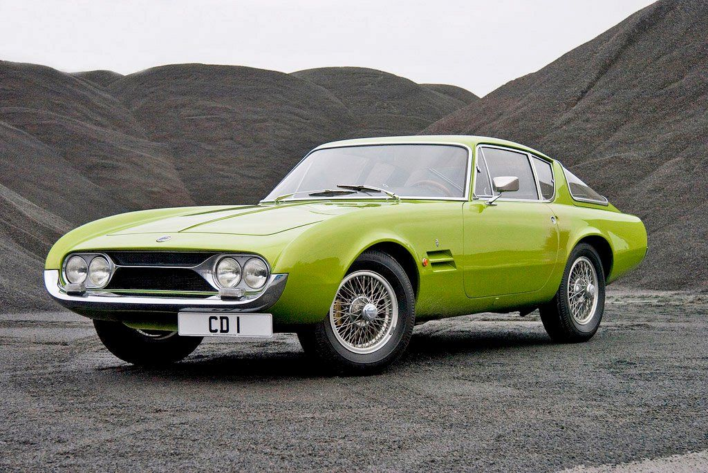 Ghia G230S Prototype (1963) – One of the first cars to be completed ...
