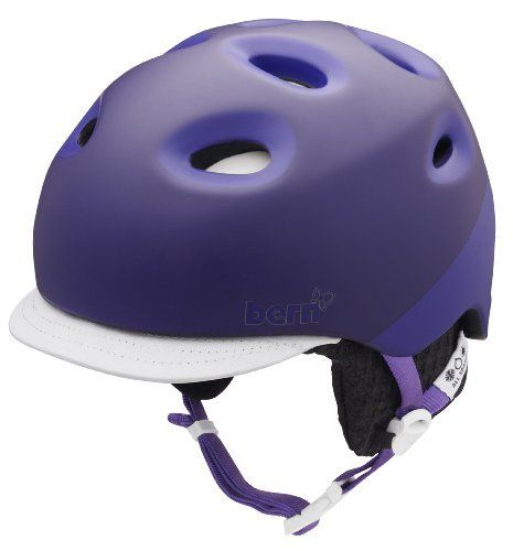 Bern Cougar 2 Tone Matte Helmet with Grey Knit (Purple, Medium/Large) by Bern Unlimited. $139.95. The high-end Cougar 2 is a second generation helmet from the original Cougar. The Cougar 2 features a removable brim visor plus an adjustable slider system for maximum comfort in all the elements.