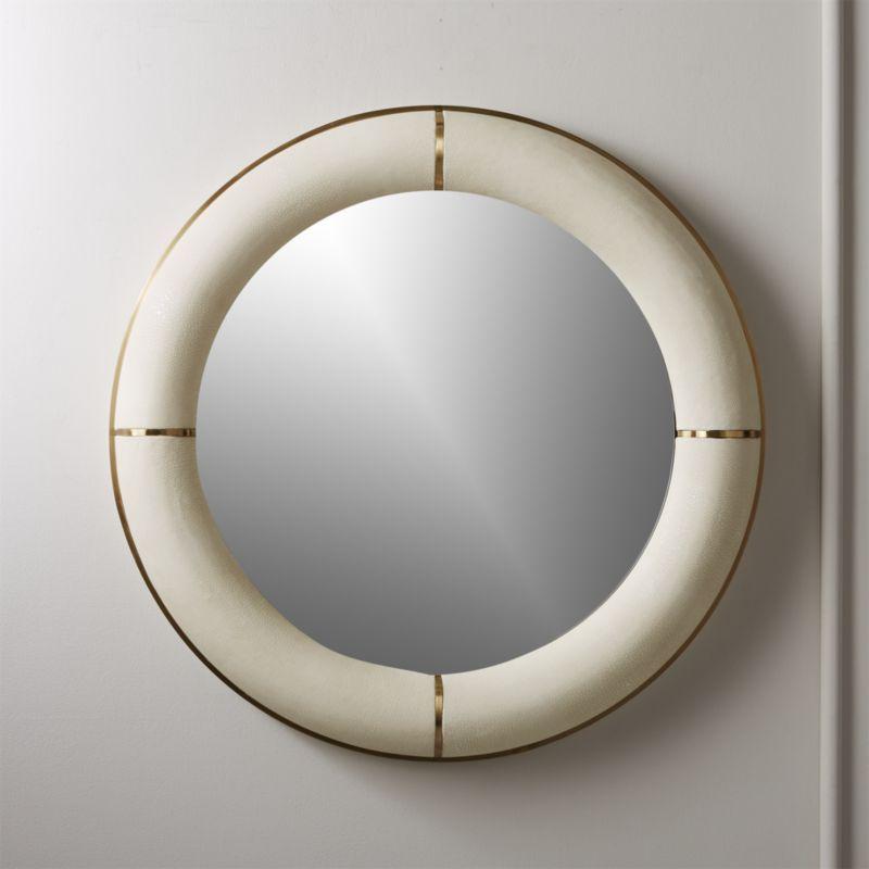 Starburst Washed Wood Mirror 3 Pack Threshold Target Wood Mirror Small Round Mirrors Mirror Decor