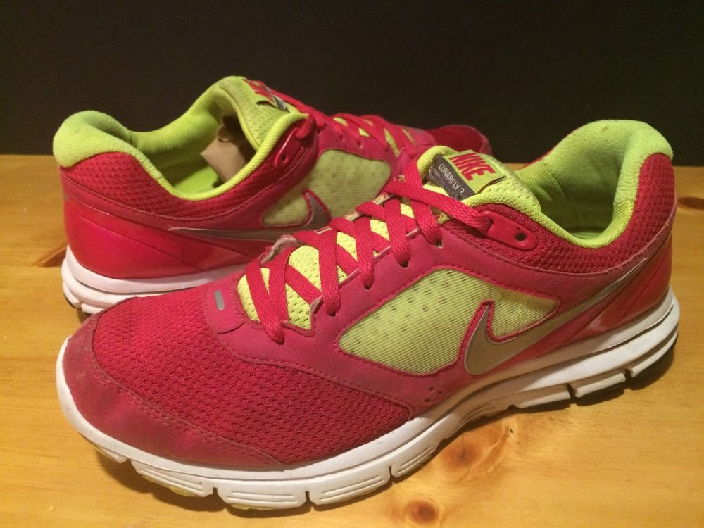 official photos 743a5 6e23b Women s Size 9 Pink And Lime Green Nike Lunarfly 2 Shoes  fashion  clothing   shoes  accessories  womensshoes  athleticshoes (ebay link)
