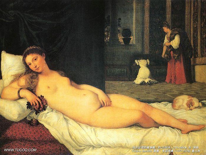 Titian s venus of urbino